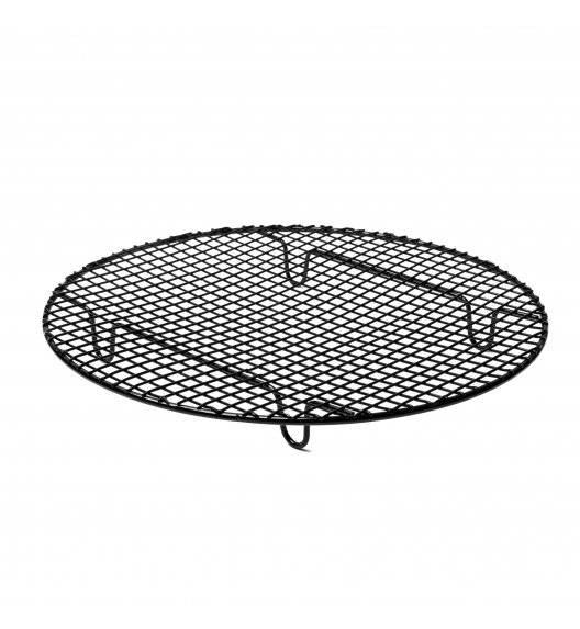 TADAR Okrągła kratka do studzenia ciast 28 cm / czarna