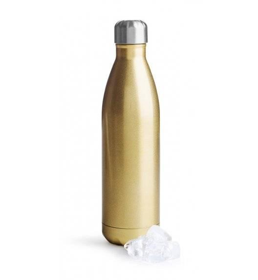 SAGAFORM TO GO Termiczna butelka stalowa złota 0,75 l