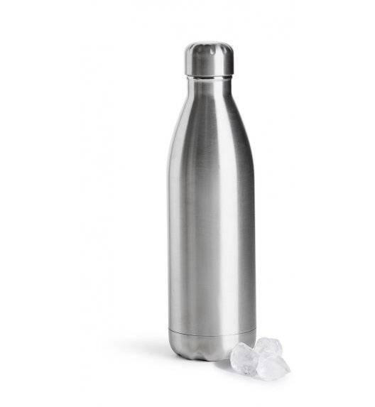 SAGAFORM TO GO Termiczna butelka stalowa metaliczna 0,5 l