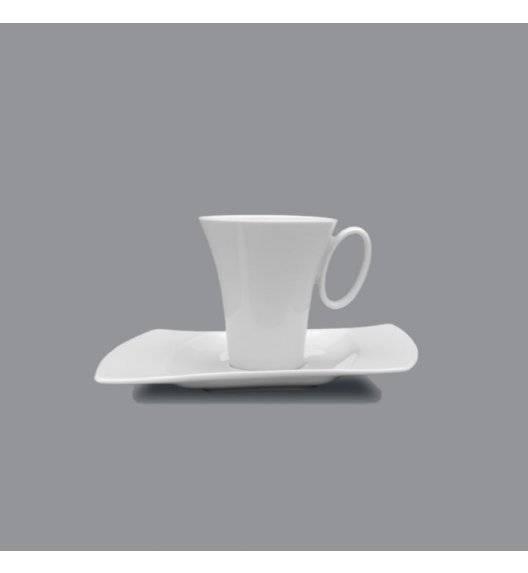 PROMOCJA! LUBIANA WING Filiżanka espresso 100 ml + spodek 16,5 cm / 2 el / porcelana