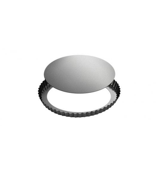 TESCOMA DELICIA Forma do pieczenia tarty z falistym brzegiem i wyjmowanym dnem 28 cm / powłoka antyadhezyjna.