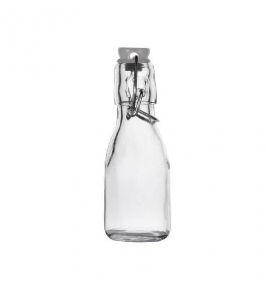 TADAR Szklana butelka z klipsem 250 ml