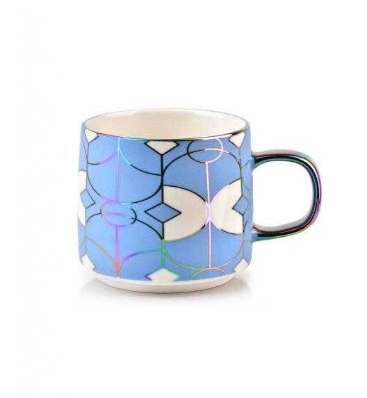 WYPRZDAŻ! AFFEKDESIGN NEO GEO Kubek / niebieski / 410 ml / porcelana