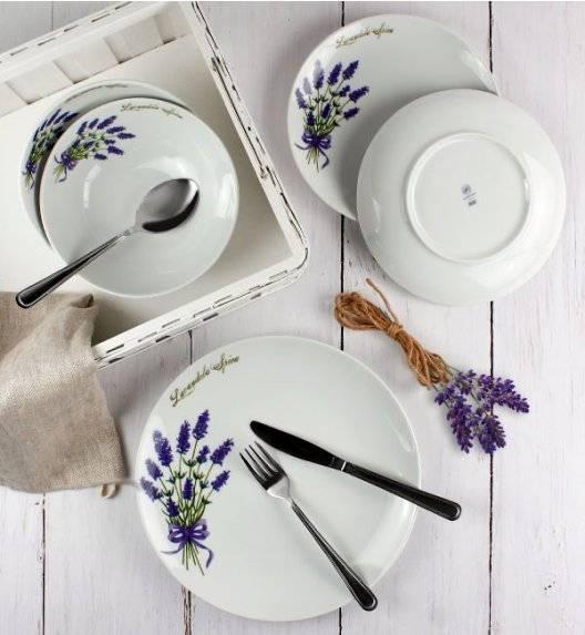 LUBIANA LAWENDA 5979 Komplet obiadowy 72 el / 24 os / porcelana