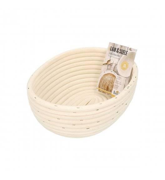 BIRKMANN LAIB & SEELE Koszyk owalny do wyrastania chleba 24,5 cm / naturalny rattan