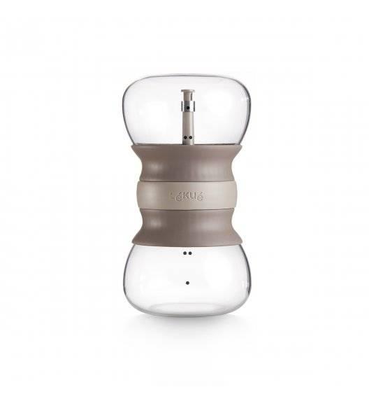 LEKUE CALM AT HOME Zaparzacz 500 ml / szkło borokrzemowe, silikon