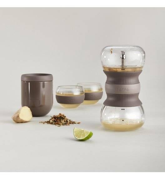 LEKUE CALM AT HOME Zestaw do parzenia herbaty / szkło borokrzemowe, silikon