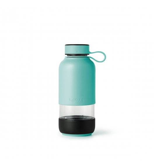 LEKUE TO GO Butelka szklana 600 ml / turkusowa
