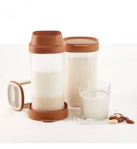 LEKUE Zestaw do przygotowywania mleka roślinnego