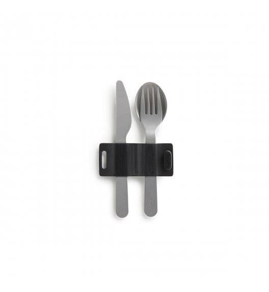 LEKUE TO GO Zestaw sztućców do lunchboxów / nóż + widelec + łyżka