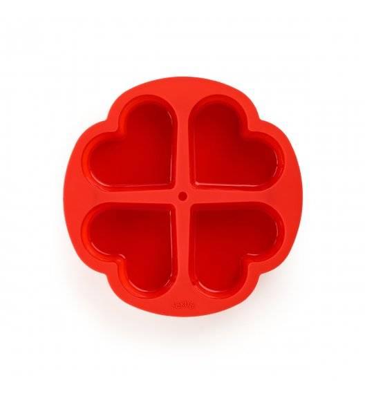 LEKUE Silikonowa foremka do ciasta w kształcie serca