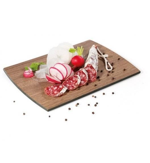 ZASSENHAUS Deska do krojenia z laminatu włókna drzewnego 28 × 20 cm / brązowa