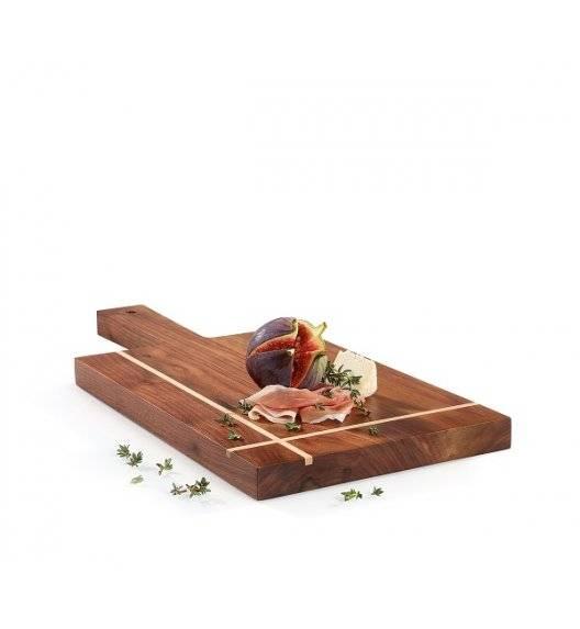 ZASSENHAUS Deska do serwowania z rączką / drewno orzechowe / 38 x 17,5 cm