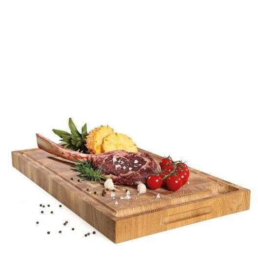 ZASSENHAUS Blok do siekania typu end grain, drewno dębowe / 54 x 30 x 4 cm
