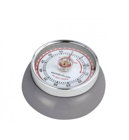 ZASSENHAUS SPEED Timer mechaniczny ⌀ 7 cm szary