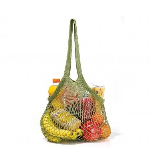 ZASSENHAUS Wielorazowa eko siatka na zakupy / oliwkowa / 40 x 70 cm