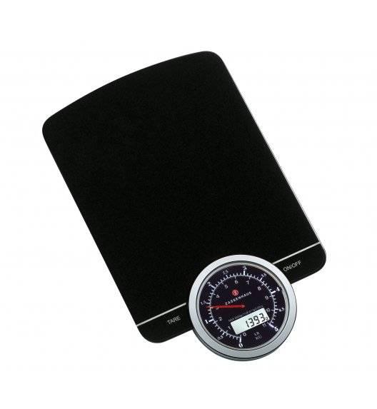 ZASSENHAUS SPEED Cyfrowa waga kuchenna czarna / do 5 kg