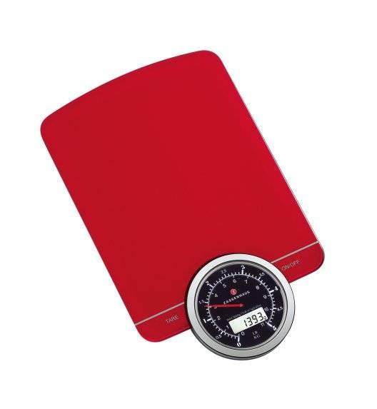 ZASSENHAUS SPEED Cyfrowa waga kuchenna czerwona / do 5 kg