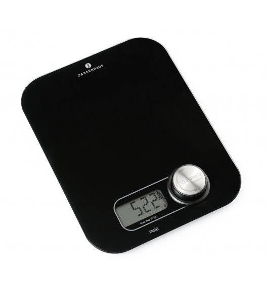 ECO ENERGY Cyfrowa waga kuchenna na dynamo / czarna / do 5 kg