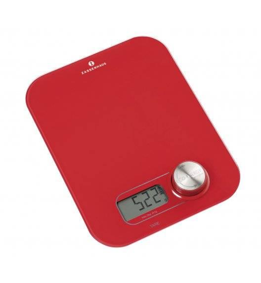 ECO ENERGY Cyfrowa waga kuchenna na dynamo / czerwona / do 5 kg