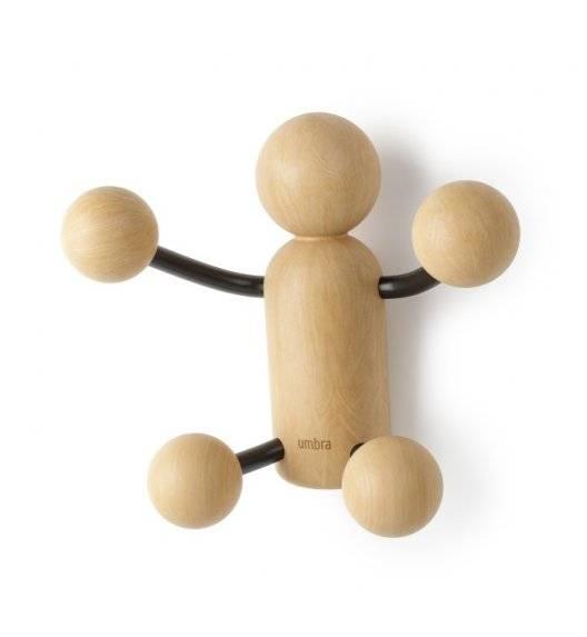 UMBRA WOODY Wieszak ścienny w kształcie ludzika / drewno