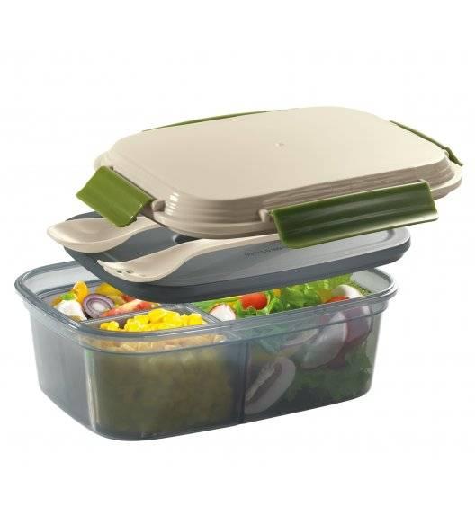 CILIO COOL Pojemnik na lunch z wkładem chłodzącym + sztućce / 1,25 l