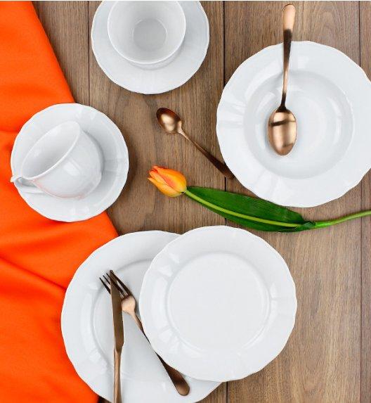 LUBIANA MARIA Serwis obiadowo-kawowy 120 el / 24 osoby / porcelana