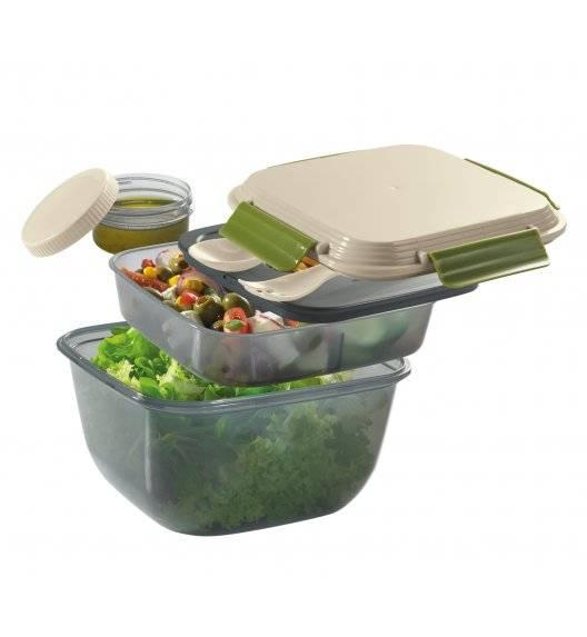 CILIO FRESH Pojemnik na lunch z wkładem chłodzącym + sztućce / 1,5 l