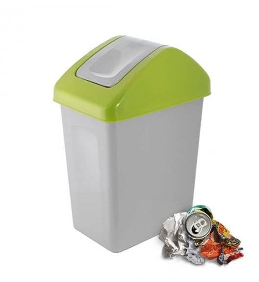 BRANQ 1310 Kosz / pojemnik na śmieci 10 L do segregacji / zielony