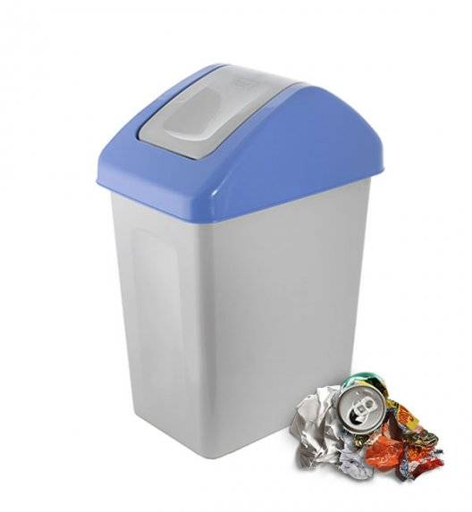 BRANQ 1310 Kosz / pojemnik na śmieci 10 L do segregacji / niebieski