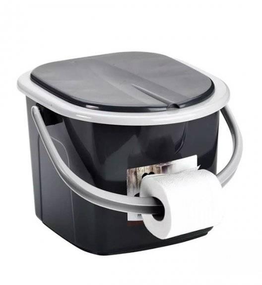 BRANQ 1305 Wiadro / turystyczna, przenośna toaleta 15,5 l / tworzywo sztuczne