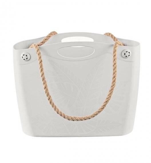 BRANQ 1802 Torba / koszyk na ramię / antyczna biel