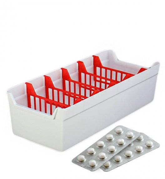 BRANQ 5640 Organizer / pojemnik na leki / tworzywo sztuczne
