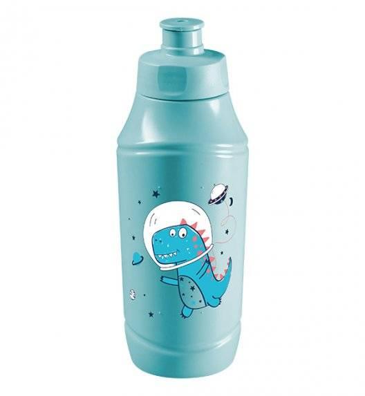 BRANQ 1990 Bidon / butelka na wodę 350 ml dla dzieci / dinozaur w kosmosie
