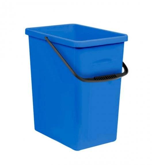BRANQ 1309 Pojemnik do segregacji odpadów 11 l / niebieski / tworzywo sztuczne