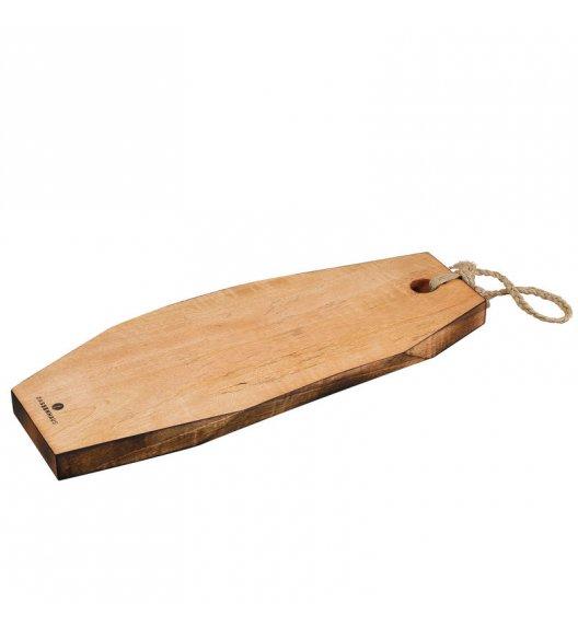 WYPRZEDAŻ! ZASSENHAUS Deska do ryb, drewno mango 40 x 16 cm