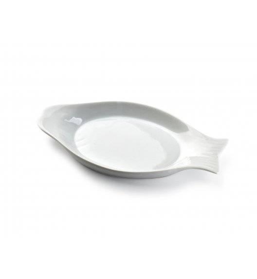 COOKINI BASIC Półmis / półmisek 24,6 x 12 cm w kształcie ryby / porcelana