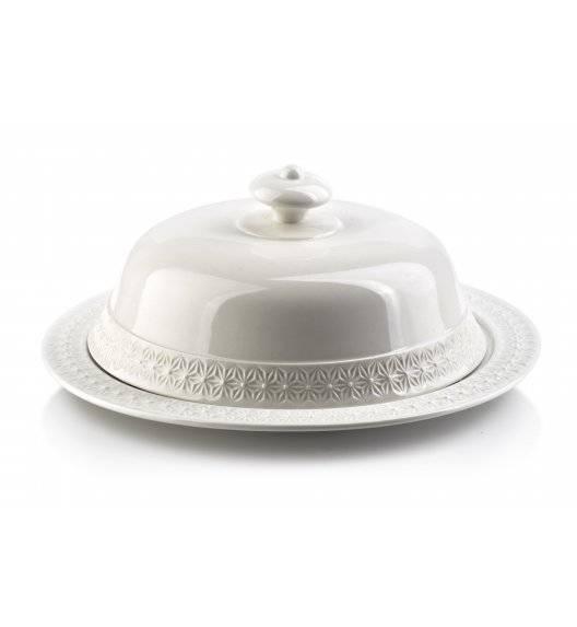 COOKINI BASIC Patera / talerz z pokrywką 25 cm / porcelana