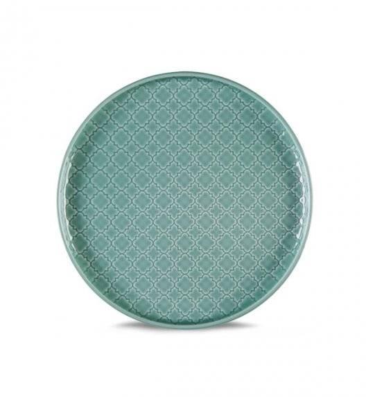 LUBIANA MARRAKESZ K5 Talerz deserowy 17,5 cm / morski / porcelana
