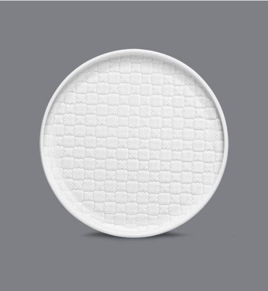 LUBIANA MARRAKESZ Talerz deserowy 17,5 cm / biały / porcelana