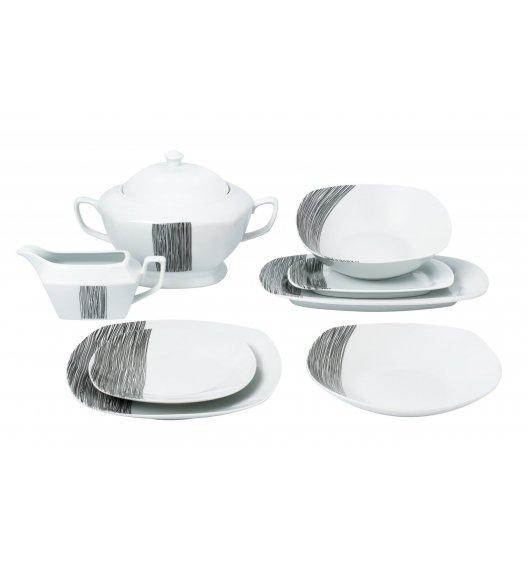 WYPRZEDAŻ! TADAR HOSTE Serwis obiadowy 18 elementów / porcelana