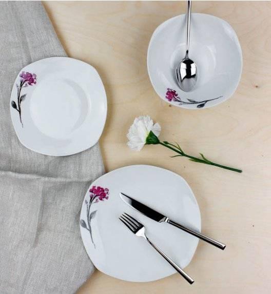 WYPRZEDAŻ! AFFEKDESIGN KWIATY Serwis obiadowy 17 elementów / porcelana
