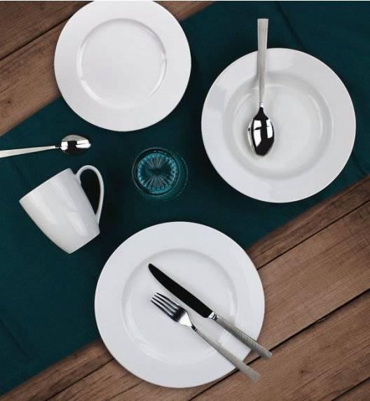 WYPRZEDAŻ! KAROLINA PLANET Zestaw talerzy obiadowych 18 elementów / porcelana