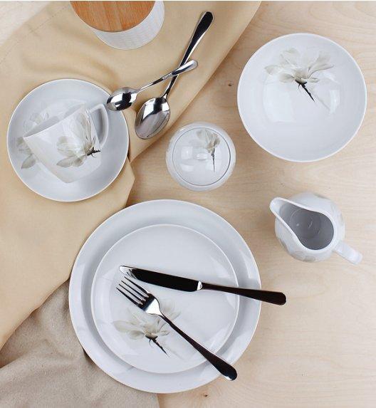 WYPRZEDAŻ! LUBIANA MAGNOLIA 6474 Serwis obiadowo - kawowy 30 elementów / 6 osób / porcelana