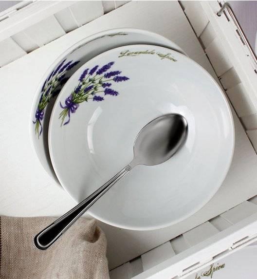 WYPRZEDAŻ! LUBIANA LAWENDA 5979 Zestaw 12 salaterek / porcelana