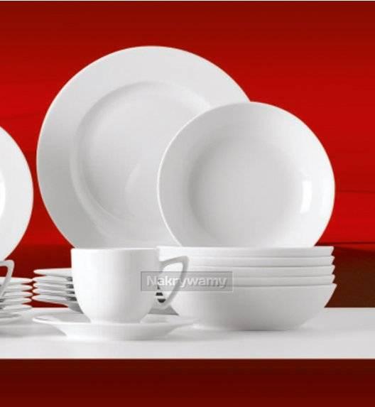 WYPRZEDAŻ! Lubiana ROMA-AMBASADOR Komplet 16 talerzy dla 8 osób / porcelana
