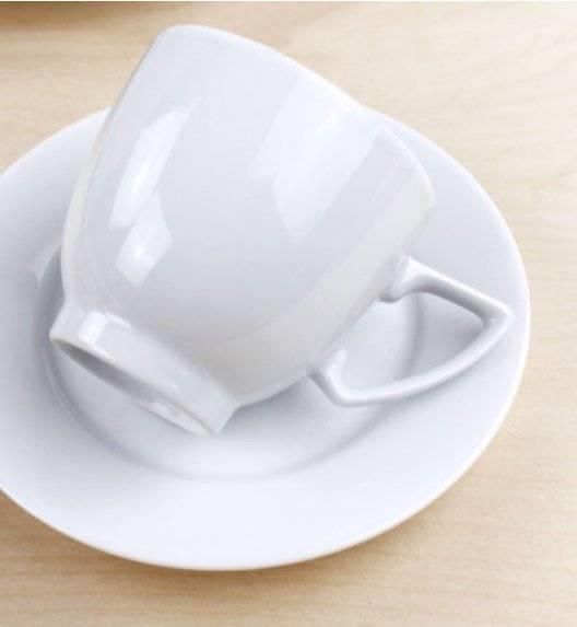 WYPRZEDAŻ! LUBIANA AMBASADOR 4x filiżanka 250 ml / porcelana