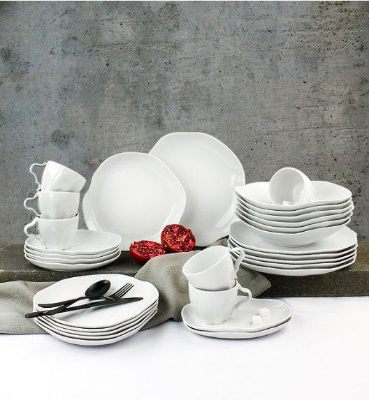 WYPRZEDAŻ! LUBIANA STONE AGE Serwis obiadowo - kawowy 29 el / 6 osób / porcelana