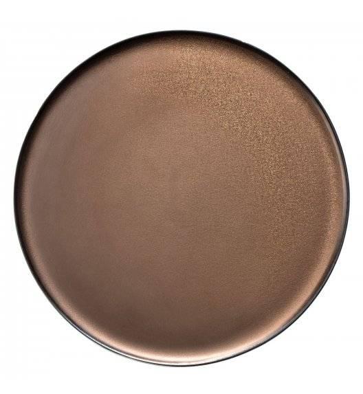VERLO ETER Talerz obiadowy Ø 20,5 cm / postarzana miedź