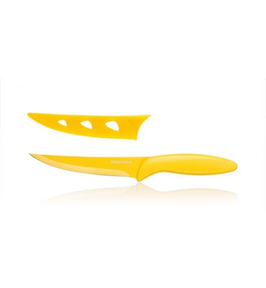 Nóż kuchenny uniwersalny Non-Stick Tescoma Presto Tone 12 cm żółty.
